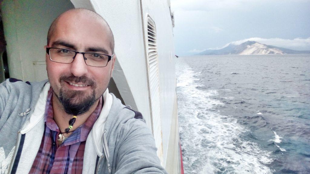 auf der Fähre Volos Skopelos - Platon Kiriazidis
