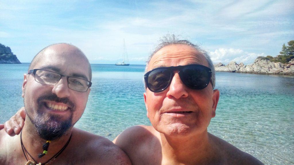 Selfie Stafylos Beach Paralia - Platon Kiriazidis