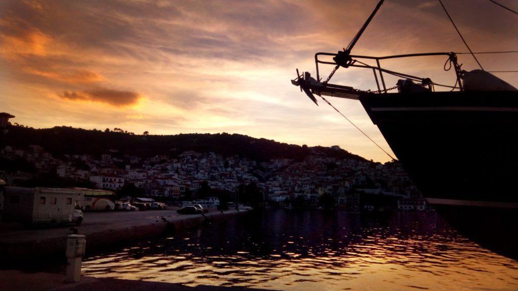 Nacht Night auf Skopelos - Platon Kiriazidis