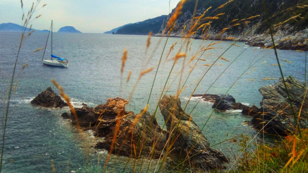 Steinstufen des Agios Ioannis Skopelos - Platon Kiriazidis