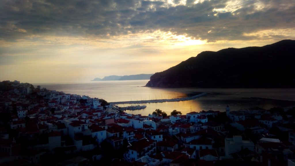 Sonnenaufgang Sunrise Skopelos - Platon Kiriazidis