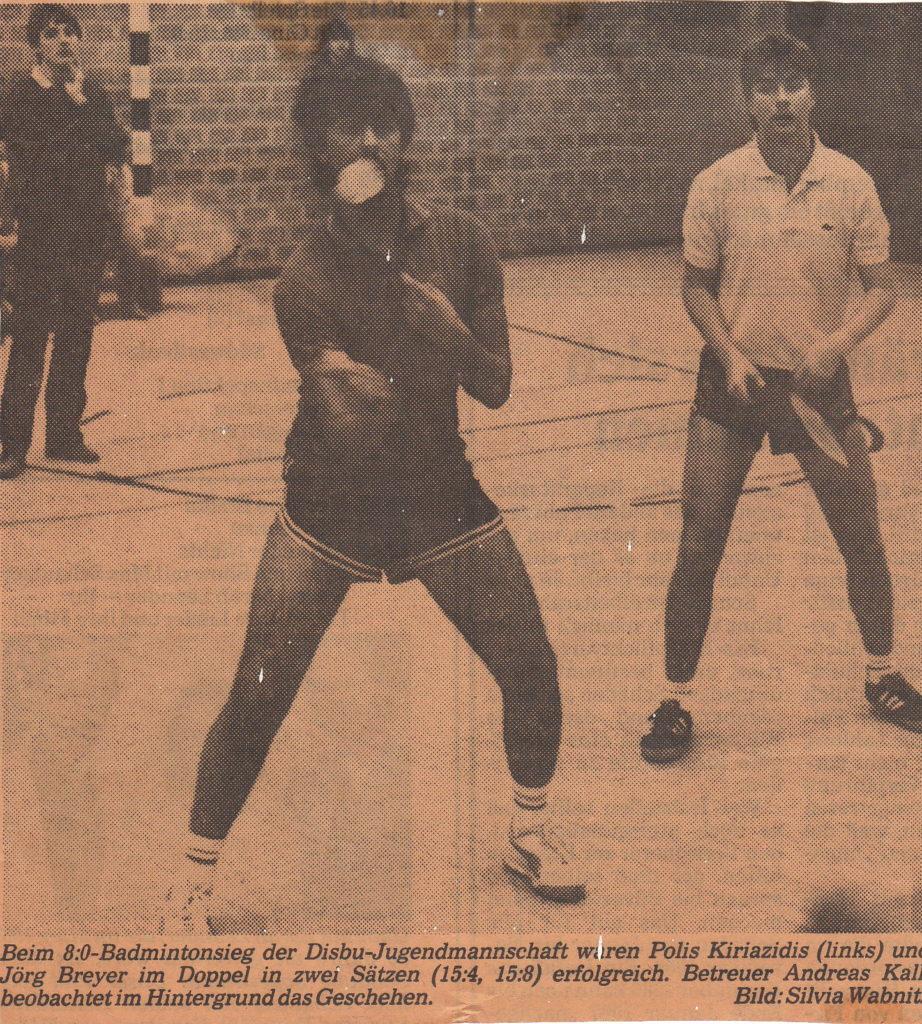 Badminton - Platon Kiriazidis