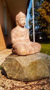 Buddha Skulptur in Kißlegg - Platon Kiriazidis