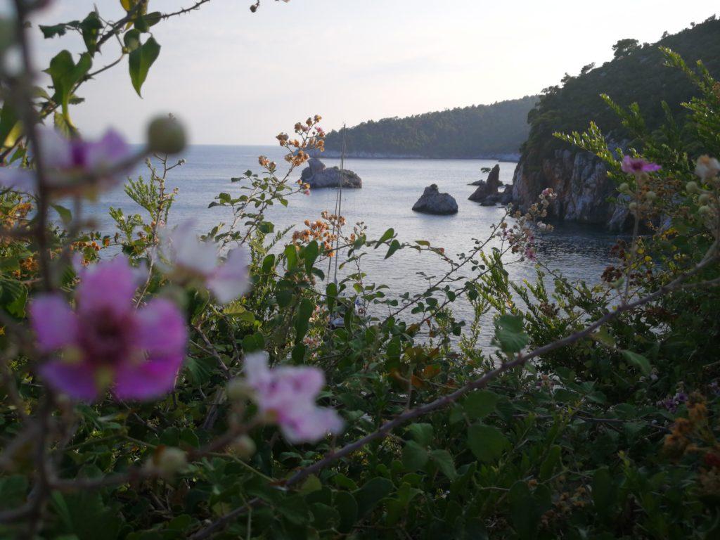 Stafylos Beach erste Ansicht