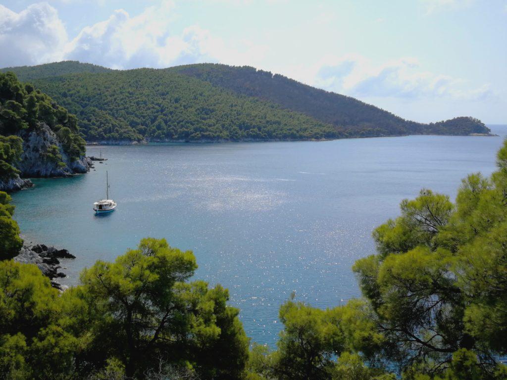 Skopelos grün-blau Paradies