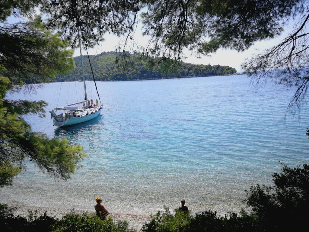hidden beach Skopelos