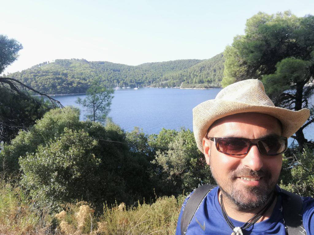 selfie auf Skopelos