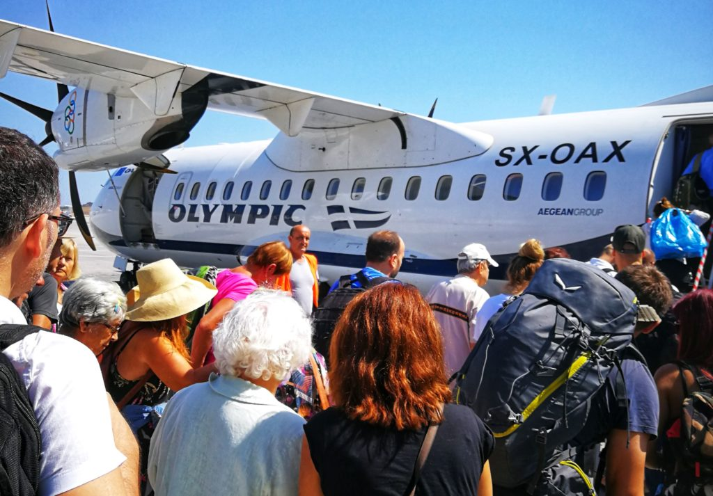 Flug nach Ikaria_Platon Kiriazidis
