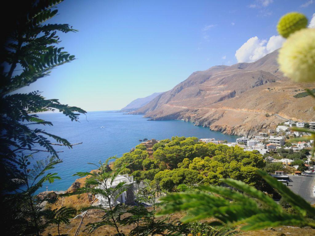Chora Sfakia, Ansicht von oben_Platon Kiriazidis