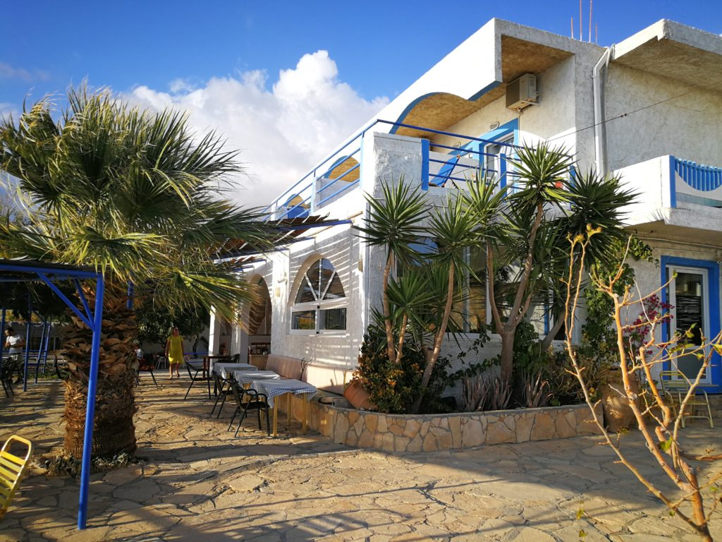 Taverne, Hotel und Seminarzentrum in Triopetra_Platon Kiriazidis