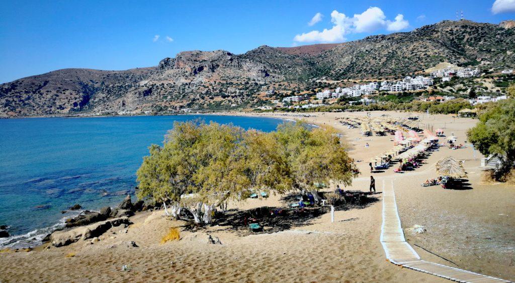 Strandansicht von Paleochora auf Kreta_Platon Kiriazidis