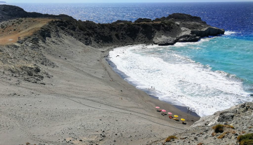 Strandabschnitt zwischen Agios Pavlos und Triopetra_Platon Kiriazidis