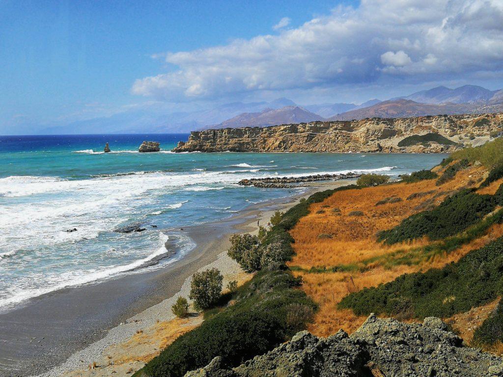 Küstenansicht bei Triopetra_Platon Kiriazidis