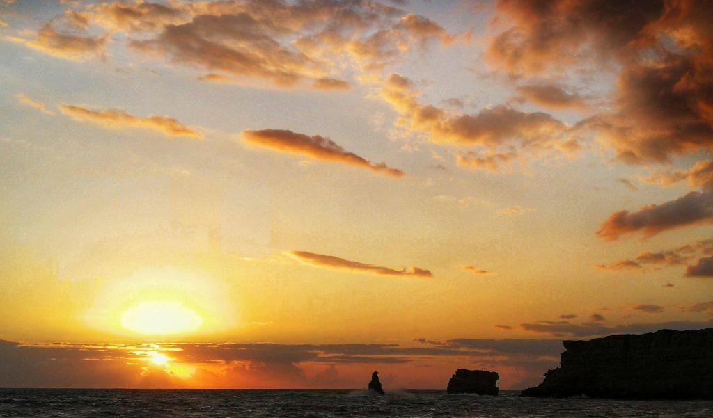 Sunset bei Triopetra. Für mich der schönste auf dieser reise auf Kreta_Platon Kiriazidis
