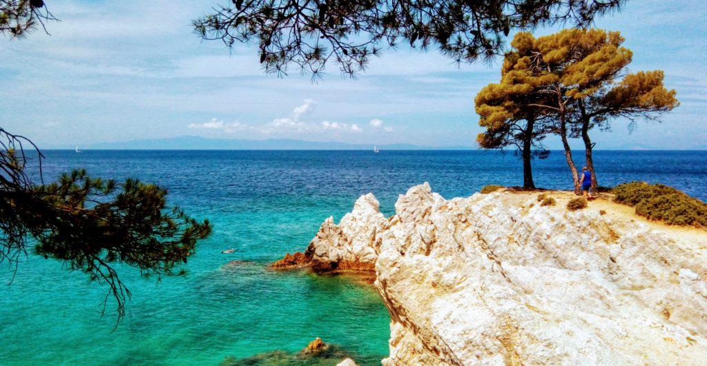 Amarandos Beach Skopelos, Mama Mia! Platon Kiriazidis