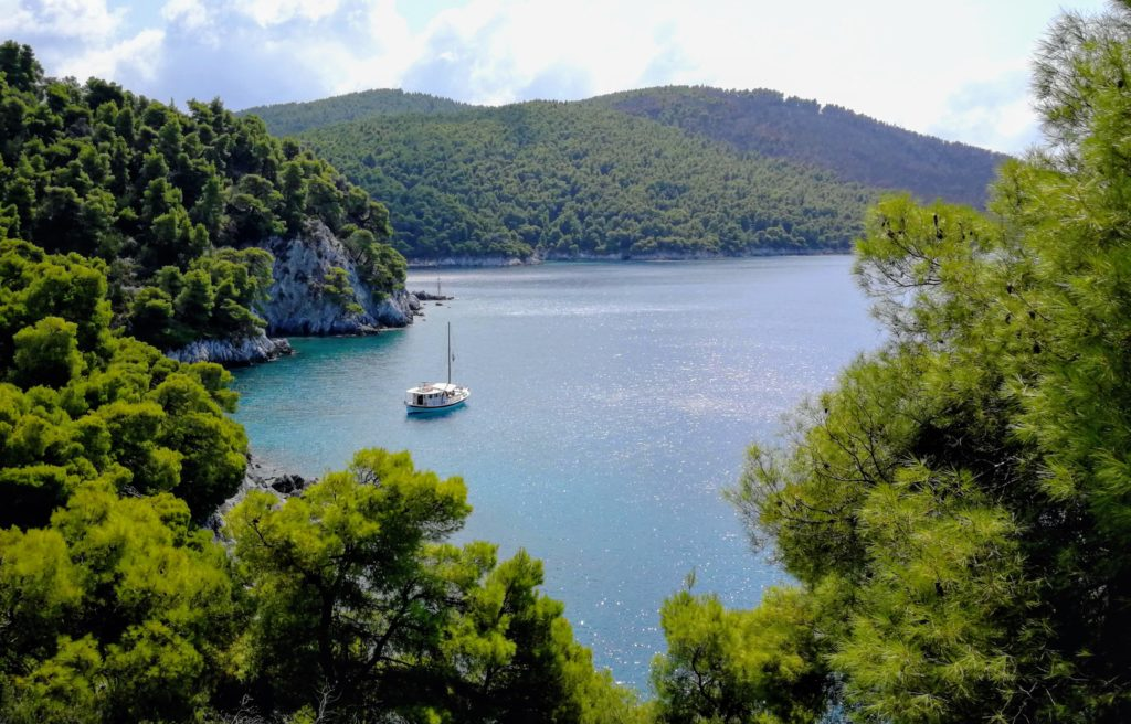 Skopelos, grün-blaues Paradies - Platon Kiriazidis